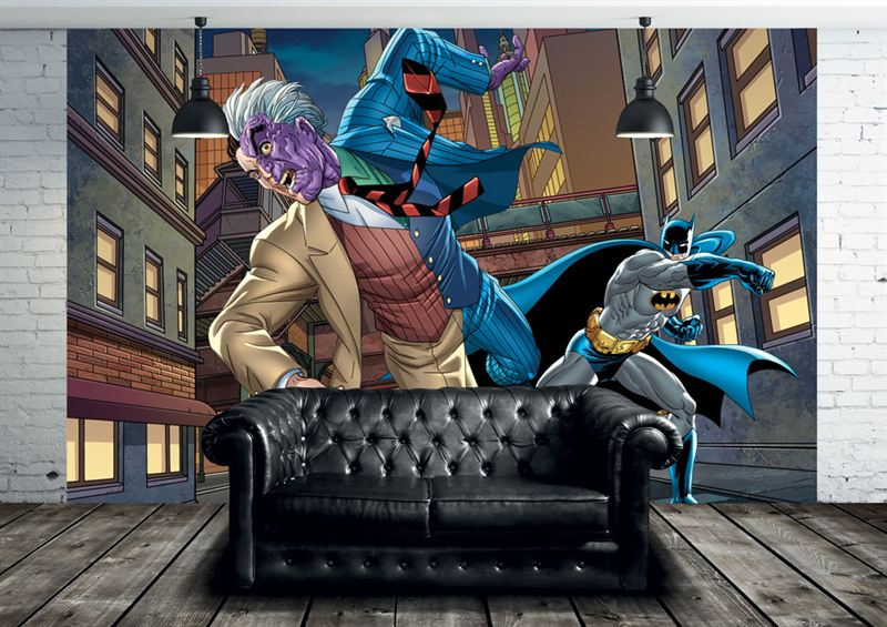 Strike exclusive batman deal with warner for Batman wall mural uk