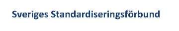 Sveriges Standardiseringsförbund