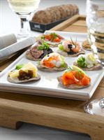 Delight foodie friends with swedish tastes this christmas for Waitrose canape selection