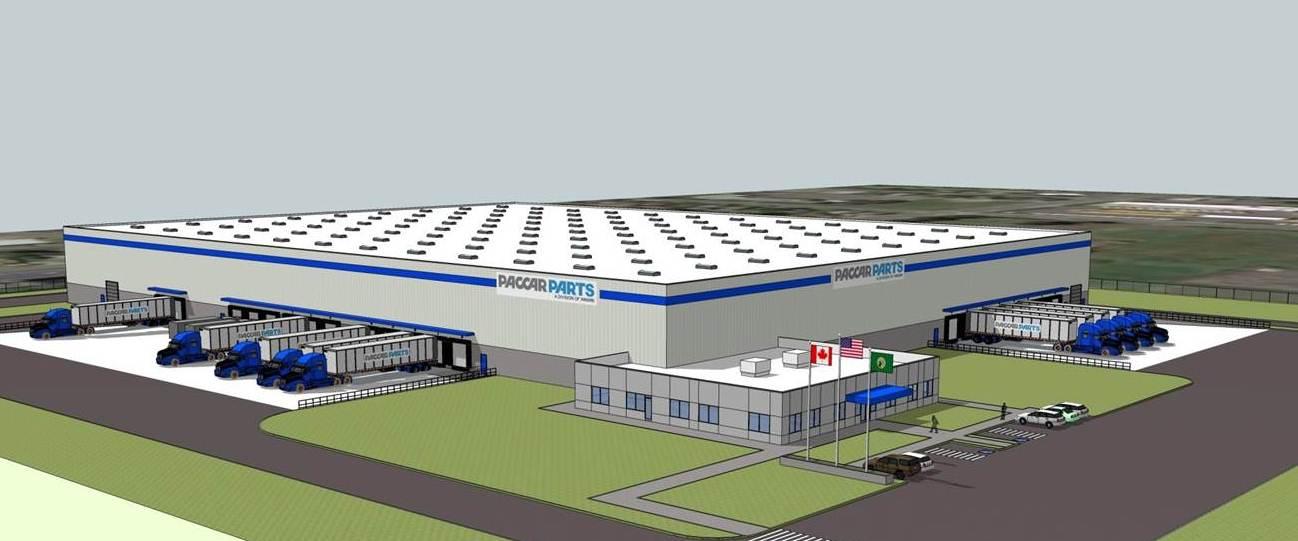 New Renton Washington PACCAR Parts Distribution Center ...