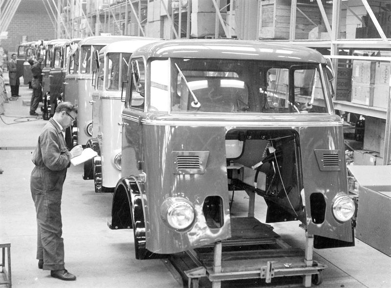 Since 1966 Trucks From Daf Are For An Important Part Made In Belgium As The First Four Cabs Came Off Production Line On 5 May Of That Year