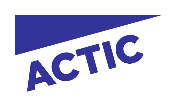 actic logo up blue - Actic
