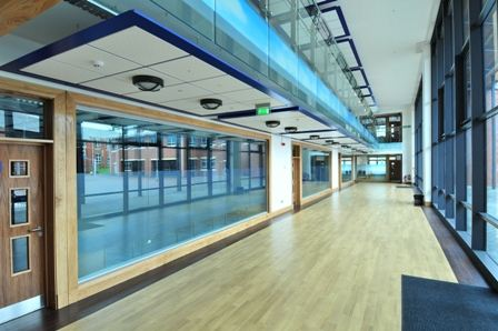Armstrong Canopies Help Bring Unity To A Split Site School