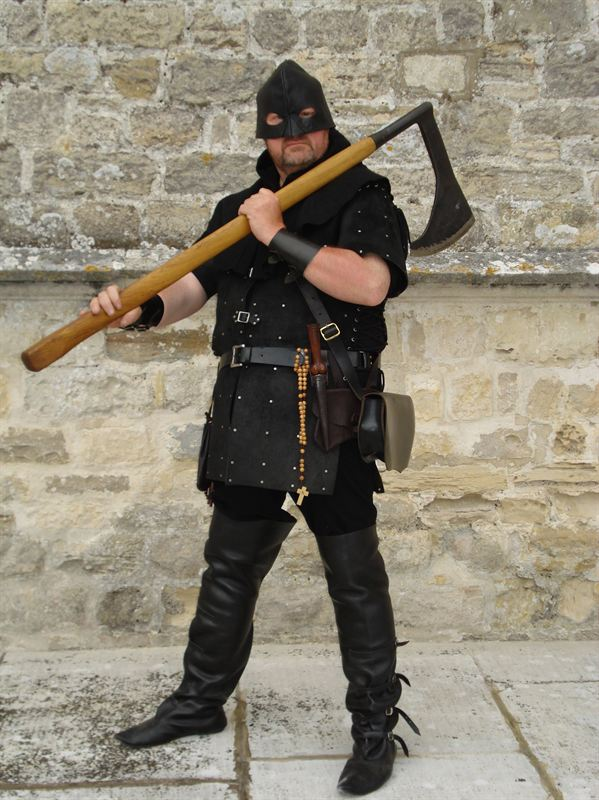 Medieval executioner - English Heritage