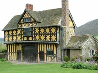 Stokesay manor house