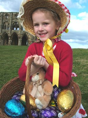 Easter at Whitby Abbey
