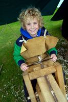 Harry Hall, 8, Scunthorpe at Countryside Live 2011.