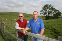 (l-r) John Henderson and Tony Shepherd, who will be talking about their experiences of share farming at The Farming Ladder event at the Great Yorkshire Showground on 29 November 2012