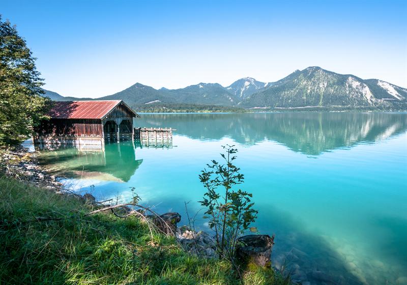 Schönste Seen Bayerns