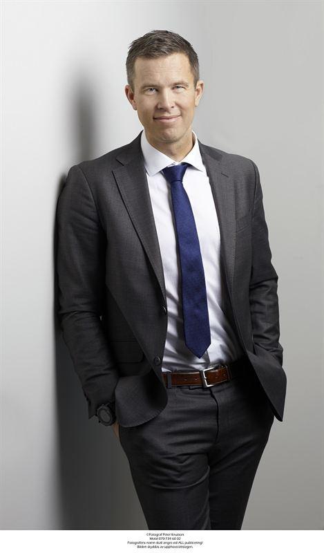 Mattias Roos CEO SSM