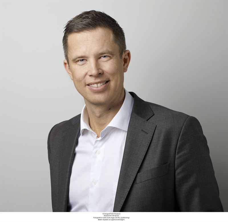 Mattias Roos, VD SSM