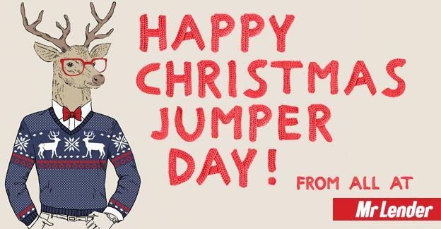 HAPPY CHRISTMAS JUMPER DAY! - Mr Lender