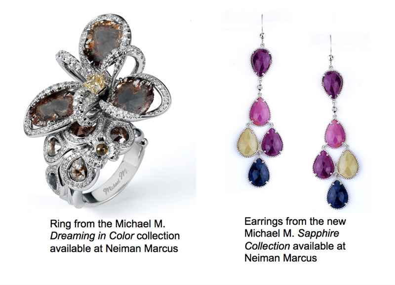 Michael m jewelry debuts fashion collections at neiman for Michael m collection