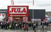 Opening of a Jula store in Sweden