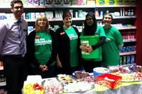 MedicX Pharmacy Coppull taking part in the Macmillan World's Biggest Coffee Morning