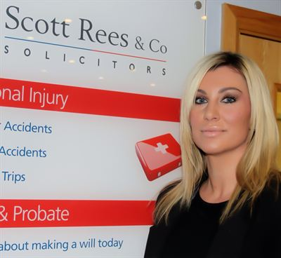 Nicola Dickinson, new partner at Scott Rees & Co