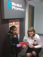 MedicX Pharmacy Ashton colouring competition winner Rabia Raja