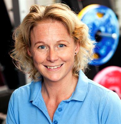 Malin Åman, idrottsskadeforskare Folksam och GIH