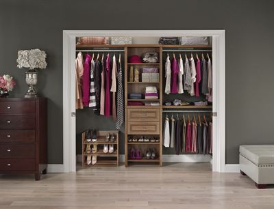 January 28, 2015 U2013 ClosetMaid, The Industry Leader In Home Storage And  Organization, Recently Added A New Walnut Finish To Its Impressions Line Of  ...