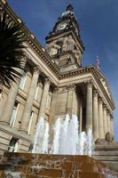 The historic Bolton Town Hall will be redeveloped by ISG