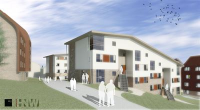 Visualisation of the new Varley Park scheme