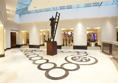 Grand lobby at the new InterContinental London Westminster
