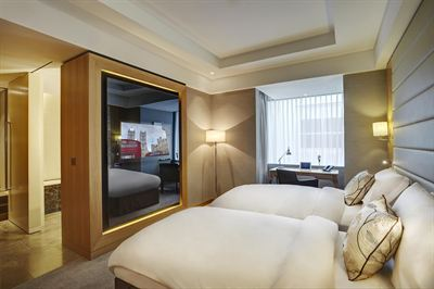 Luxurious guest accommodation in one of the hotel's 256 bedrooms