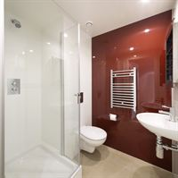 High specification bathroom pod installation within the post-graduate accommodation 
