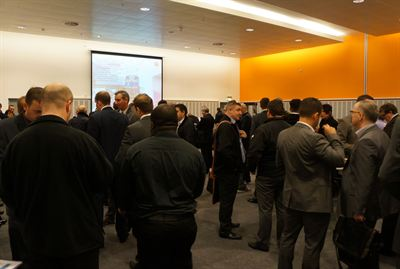 Over 280 visitors attended the event from a range of construction-related businesses