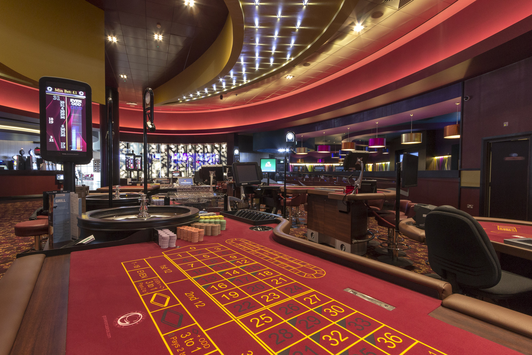 Grosvenor G Casino in Reading delivered by ISG in just 20 ...