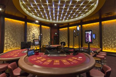Extremely high specification fit out with quality fixtures and fittings used throughout the casino