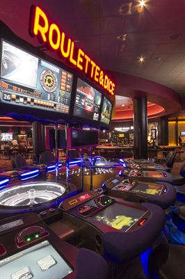 The new casino incorporates state-of-the-art gaming technology