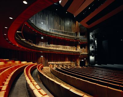 The theatre lies at the heart of the local community and boasts a 1,200 capacity auditorium