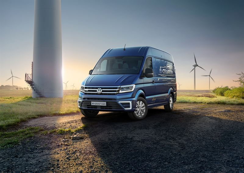 Uusi Volkswagen e-Crafter