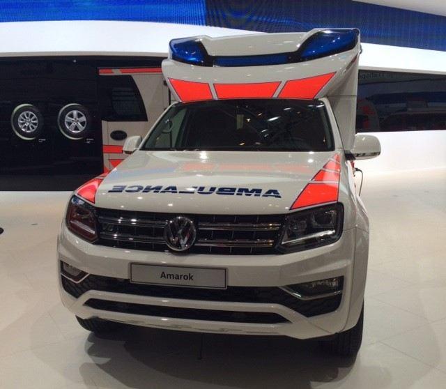 Volkswagen Amarok ambulanssi