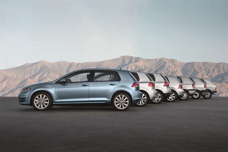 Volkswagen Golf sukupolvet