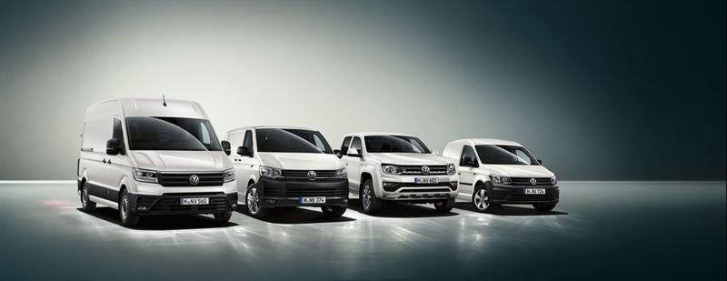 Volkswagen-hyötyautot mallisto