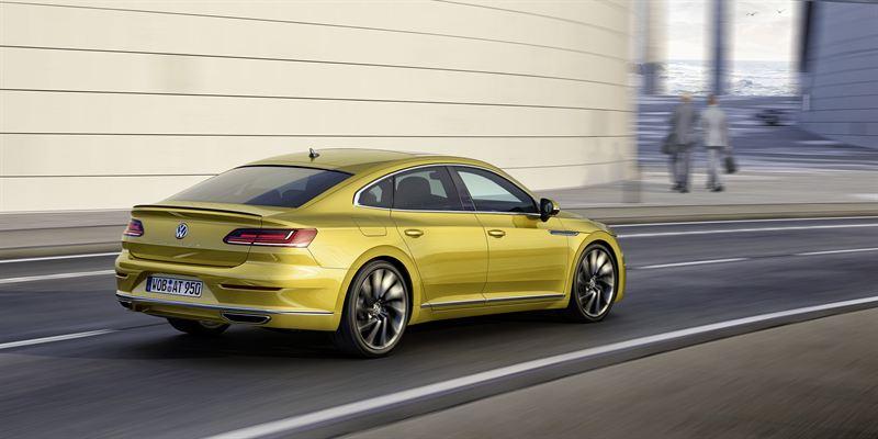 Uusi Volkswagen Arteon