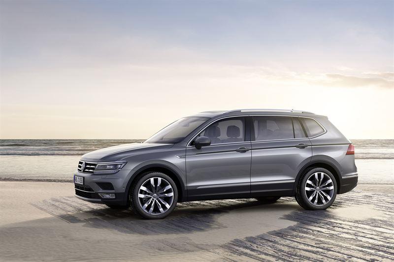 Uusi Volkswagen Tiguan Allspace