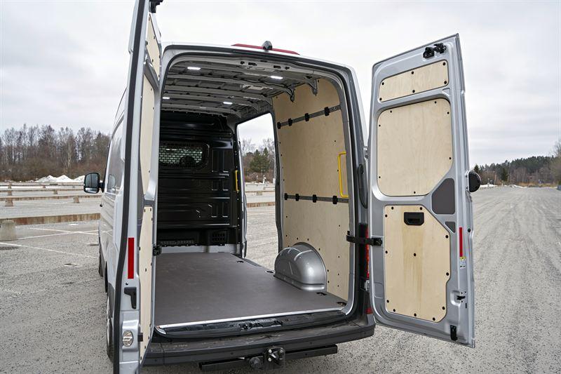 Uusi Volkswagen Crafter