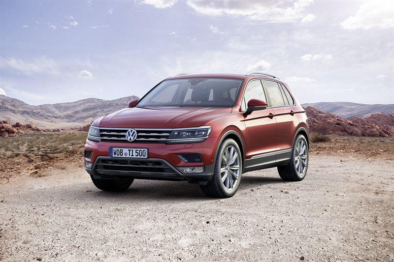 Uusi Volkswagen Tiguan