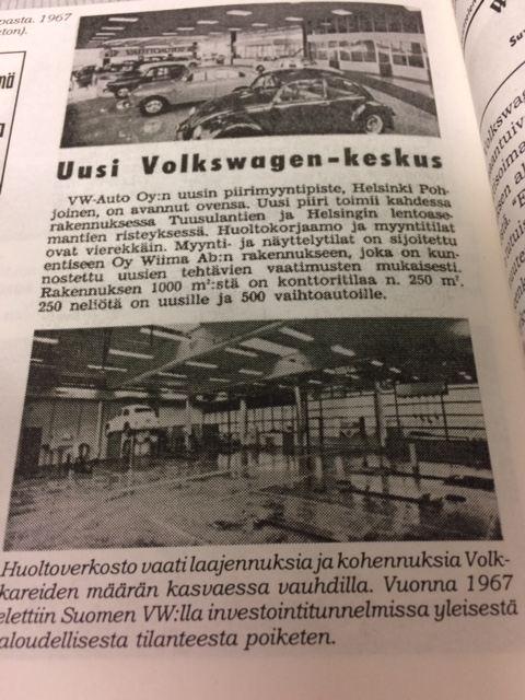 Volkswagen Center 1967 avajaiset