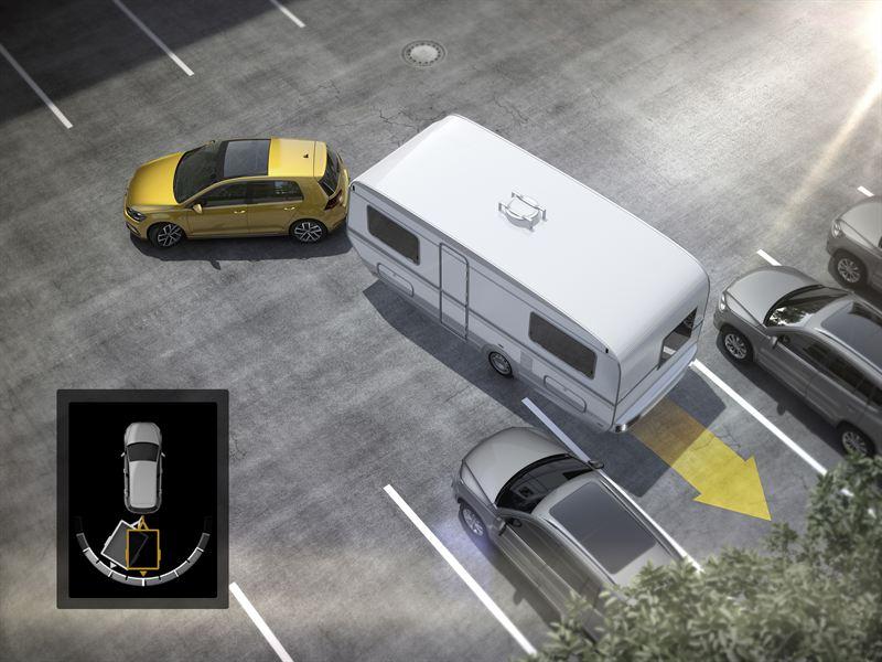 Volkswagen perävaunun peruutusavustin Trailer Assist
