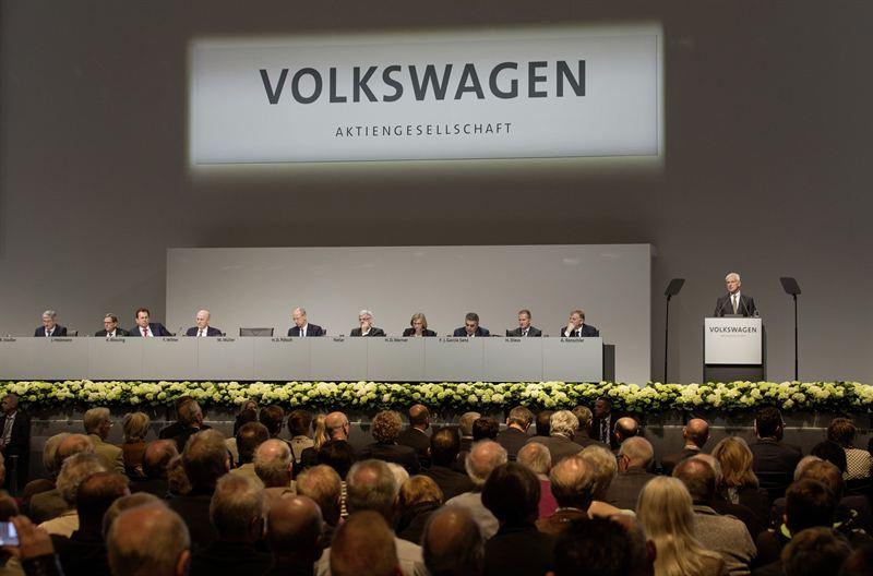 Volkswagen AG yhtiökokous 2017