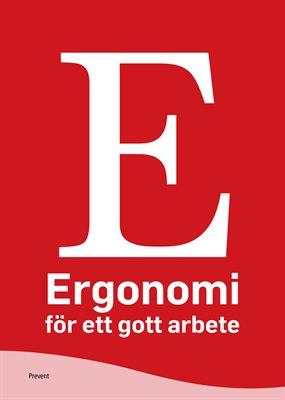 Omslag Ergonomi för ett gott arbete