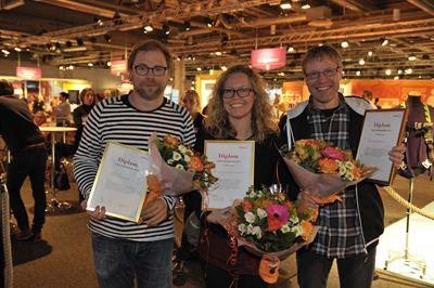 Vinnarna av Arbetsmiljöstipendiet foto Fredrik Beskow