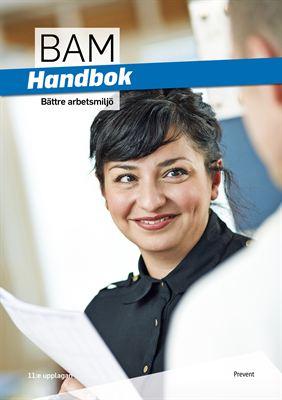 Omslag Handbok Bättre arbetsmiljö