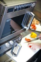 Commercial microwave ovens from Samsung