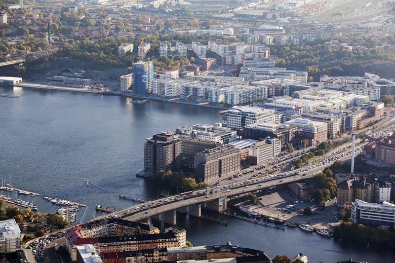 Flygbild Marievik