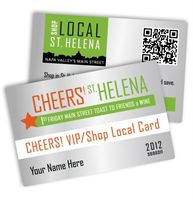 CHEERS! VIP/Shop Local card